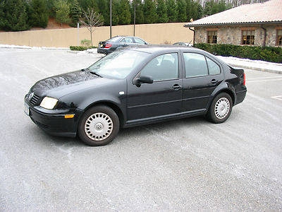 Photo 2003 Volkswagen Jetta GL Sedan 4-Door 2.0L COLOR BLACK