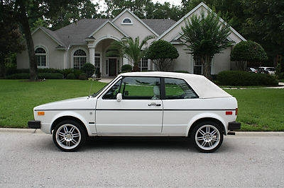 Photo 1987 Volkswagen Cabriolet