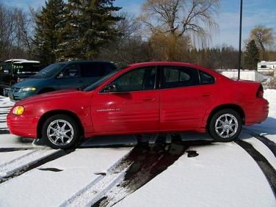Photo 1999 Pontiac 99 Grand Am SE 4-dr RED 2300