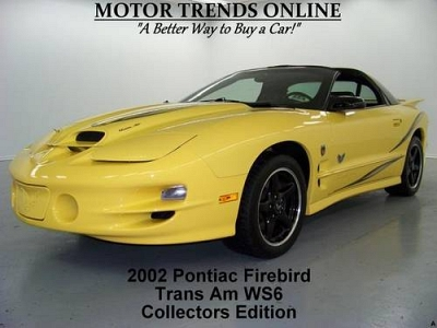 Photo 2002 Pontiac Firebird Two-Door Coupe TRANS AM WS6 COLLECTOR EDITION