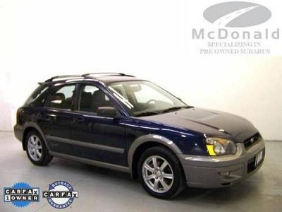 Photo 2005 Subaru Impreza 4D Station Wagon Outback Sport