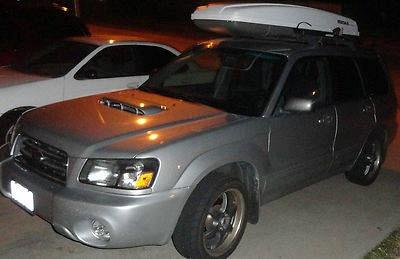 Photo 2004 Subaru Forester XT Wagon 4-Door 2.5L