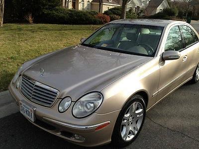 2003 Mercedes-Benz E500 Base Sedan 4-Door 5.0L
