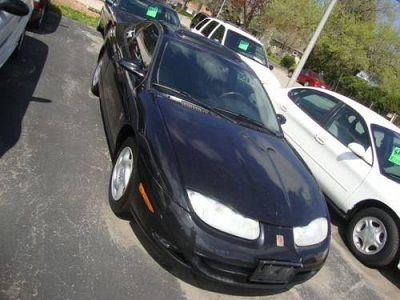 Photo 2002 Saturn SC2 Series Black 5SPD Manual -One Owner-