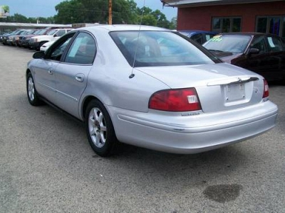 Photo 2001 Mercury Sable Ls Silver Loaded