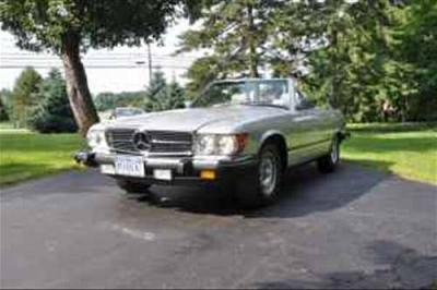 Photo 1984 MERCEDES BENZ 380SL Convertible