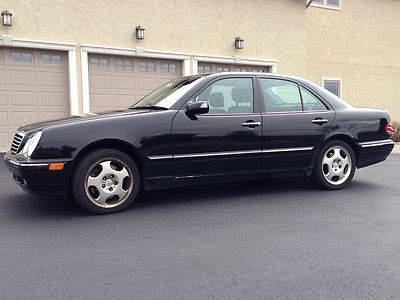 Photo 2000 Mercedes-Benz E430 4Matic Sedan 4-Door 4.3L, Black, one owner