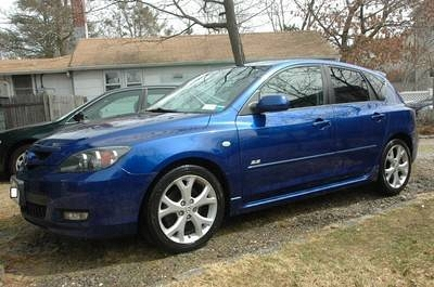 Photo 2007 Mazda 3 S Hatch 2.3L - Auto - 66K Miles - Aurora Blue
