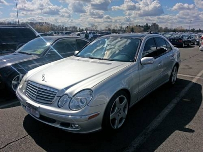 Photo 2003 Mercedes-Benz E500 AMG Sport Wheels Leather Panoramic Sunroof