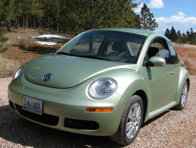 Photo Used 2009 VW New Beetle 2 door Hatchback