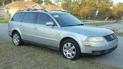Photo 2002 Volkswagen Passat GLX Wagon - Grey Leather Interior -