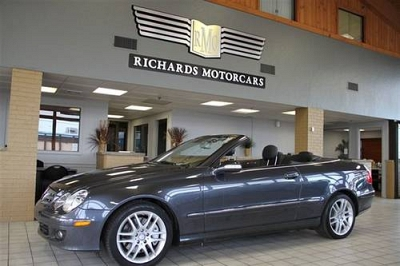 Photo Used 2009 Mercedes-Benz CLK350 Cabriolet for sale Boston MA 7408