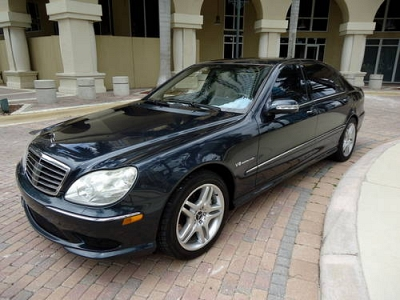 Photo 2003 Mercedes Benz S55 AMG 1-Owner Navi Winter Pkg Clean Carfax Key-Go
