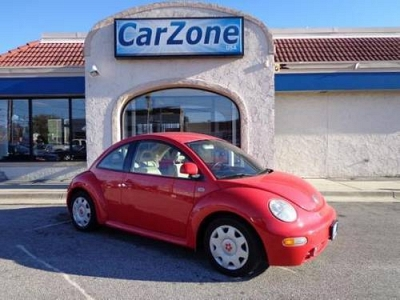 Photo 1999 VW New Beetle- 5 Speed Manual- Metallic Red- 89K