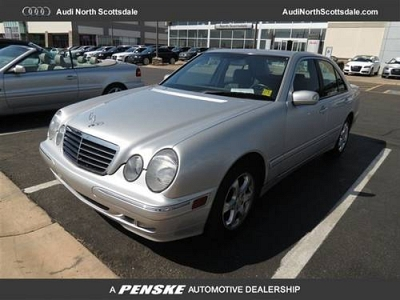 Photo 2002 Mercedes-Benz E-Class Sedan E320 4dr Sdn 3.2L Sedan