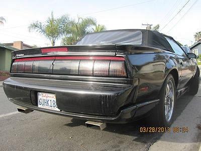 Photo 1992 Pontiac Trans Am Convertible RARE