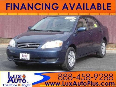 Photo 2003 Toyota Corolla  LE AUTO ONE OWNER JUST 67K LOW MILES BLUE