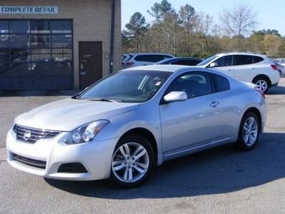Photo 2012 Nissan Altima Coupe 2.5 S