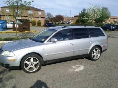 Photo 2001 VW Passat Wagon Silver V6 4Motion 108K