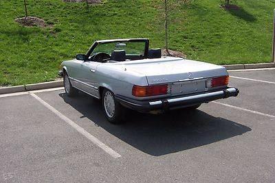 Photo 1982 Mercedes Benz 380 SL Convertible