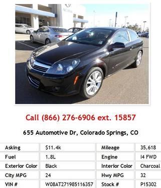 Photo 2008 Saturn Astra XR Black Hatchback I4