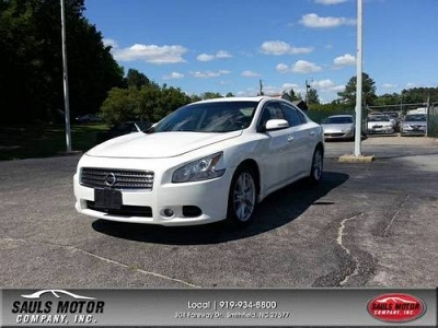 Photo 2009 Nissan Maxima- V6- White- Clean- 47k MI.- Sauls Motors
