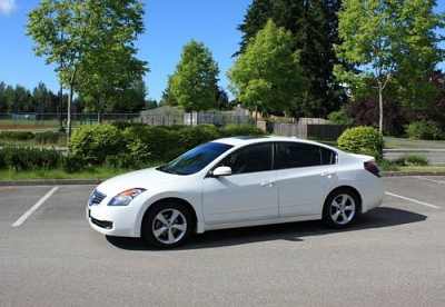 Photo White 2007 Nissan Altima 3.5 SE