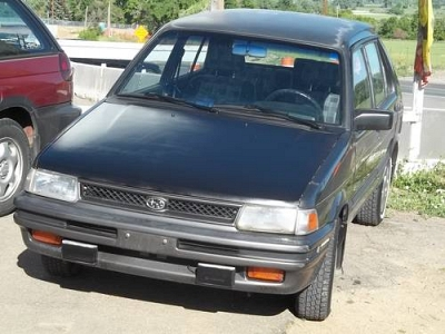 Photo 1991 Subaru Justy GL 4-Dr. HBk 4WD - One Local Owner-99k Miles-Rare