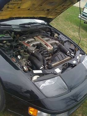 1990 Nissan 300ZX Twin Turbo Coupe 2-Door 3.0L BlackBlack