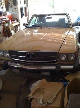 Photo 1985 Mercedes-Benz 380SL -95K MILES..  SOFT TOPHARDTOP FLORIDA