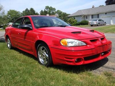 Photo 2003 Pontiac Grand AM GT, V6, 4dr, Red, Ram Air, 74k