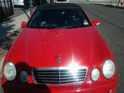 Photo 2000 mercedes benz clk430 amg package cherry red