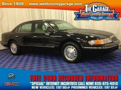 Photo 1997 Lincoln Continental 4dr Car