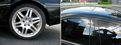 Photo 2002 Mercedes-Benz C240 Black Sedan 4-Door 2.6L  with only 72000 miles