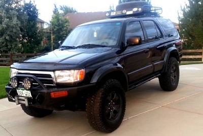 Photo 1997 TOYOTA 4RUNNER LIMITED- BLACKED OUT- ARMORED OUT