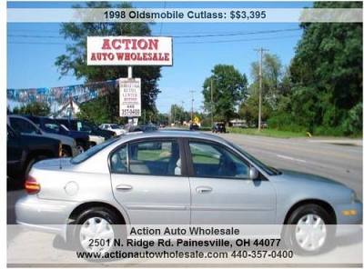 Photo 1998 Oldsmobile Cutlass GL Automatic Tan 86413 Miles Rust Free V6 3.1L