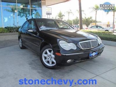 Photo 2002 Mercedes-Benz C-Class 4D Sedan C240