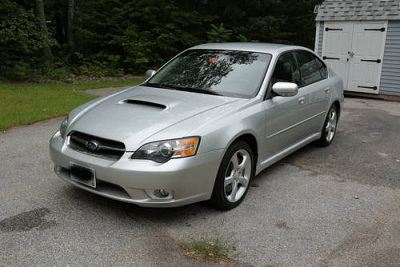Photo 2005 Subaru Legacy GT- Silver- Manual- ONLY 67K