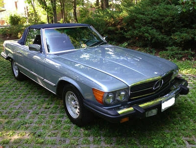 Photo Gorgeous 1984 Mercedes Benz 380SL