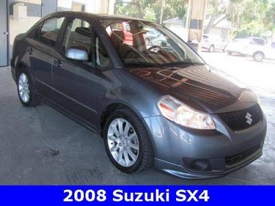 Photo 2008 Suzuki SX4 4D Sedan
