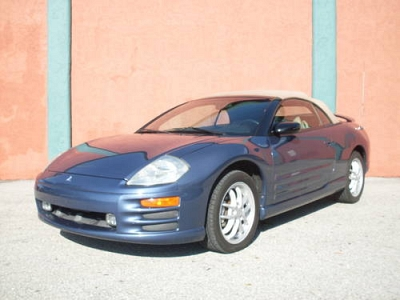 Photo 2002 Mitsubishi ECLIPSE GT SPYDER CONVERTIBLE V6 97,000 MILES