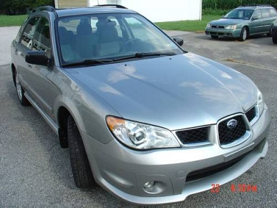 Photo 2007 Subaru Impreza Wagon, Manual - Light Blue, 1 Owner