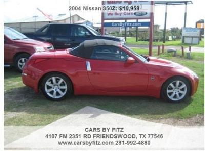 Photo 2004 Nissan 350Z 6-Cylinder Red