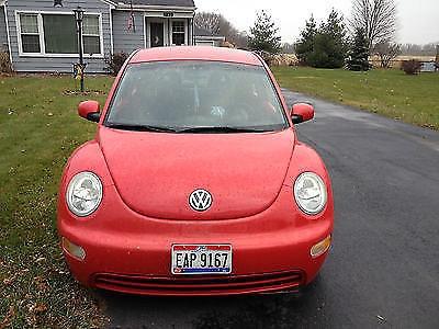 Photo 2001 VW beetle bug volkswagon