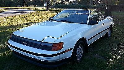 Photo 1989 Toyota Celica GT Convertible 2-Door 2.0L White