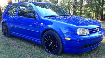 Photo 2003 VW GTI 20th Anniversary Jazz blue 98k