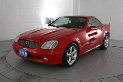 Photo 2001 Mercedes-Benz SLK-Class Convertible SLK320 2dr Roadster 3.2L