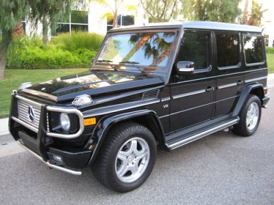 Photo 2004 MERCEDES BENZ G55 AMG,AWD,SUV,BLACKBLACK,FULL LOADED,CLEAN TITLE