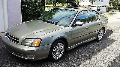 Photo 2002 Subaru Legacy GT Limited Sedan 4-Door 2.5L