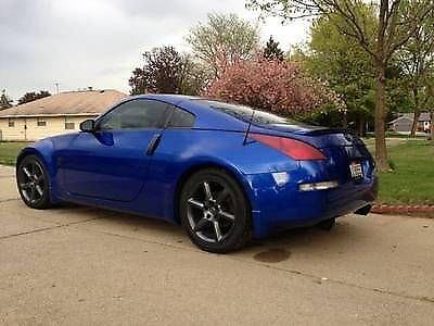Photo 2003 Nissan 350Z Performance Trim 6 Speed Daytona Blue Southern Car